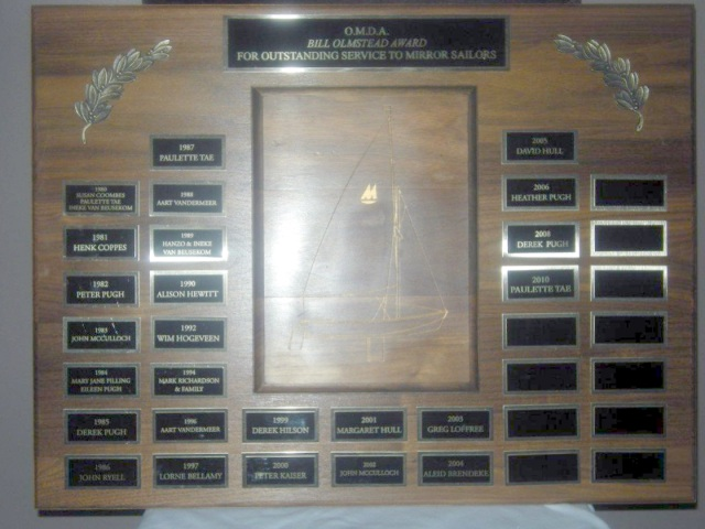 Photo: Bill Olmsted Trophy