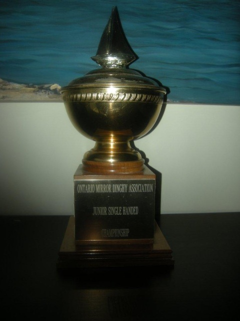 Photo: Junior Single Handed Championship Trophy
