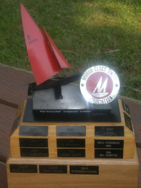 Photo: Vulcan Fireproof Trophy